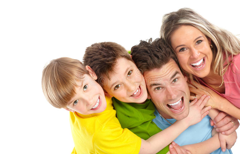 Download Happy Family Stock Photo - Image: 13942150