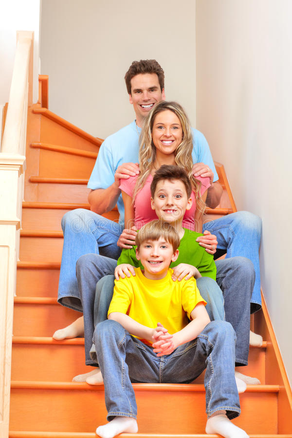 Download Happy family stock photo. Image of healthy, happiness - 13972576