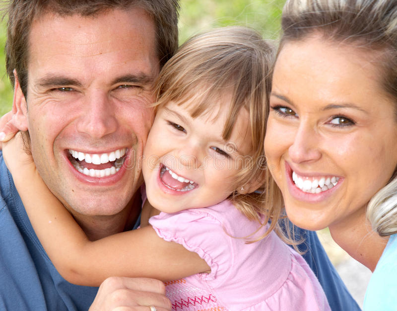 Download Happy family stock image. Image of girl, relationship - 14626557