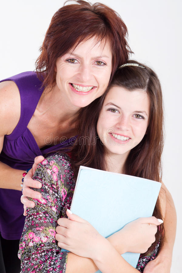 Download Happy family stock image. Image of beauty, cheerful, female - 16219311
