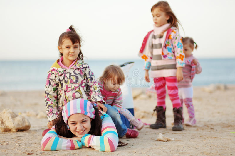 Download Happy family stock photo. Image of female, children, lifestyle - 17732630