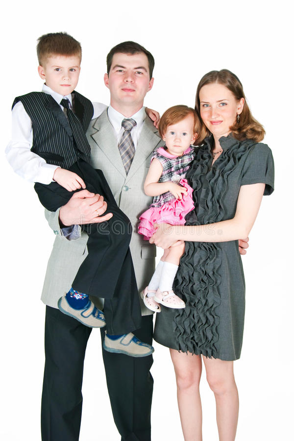 Download Happy family stock image. Image of daughter, family, wife - 22024409