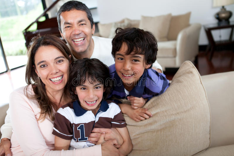 Download Happy family stock image. Image of males, mother, bonding - 25041657