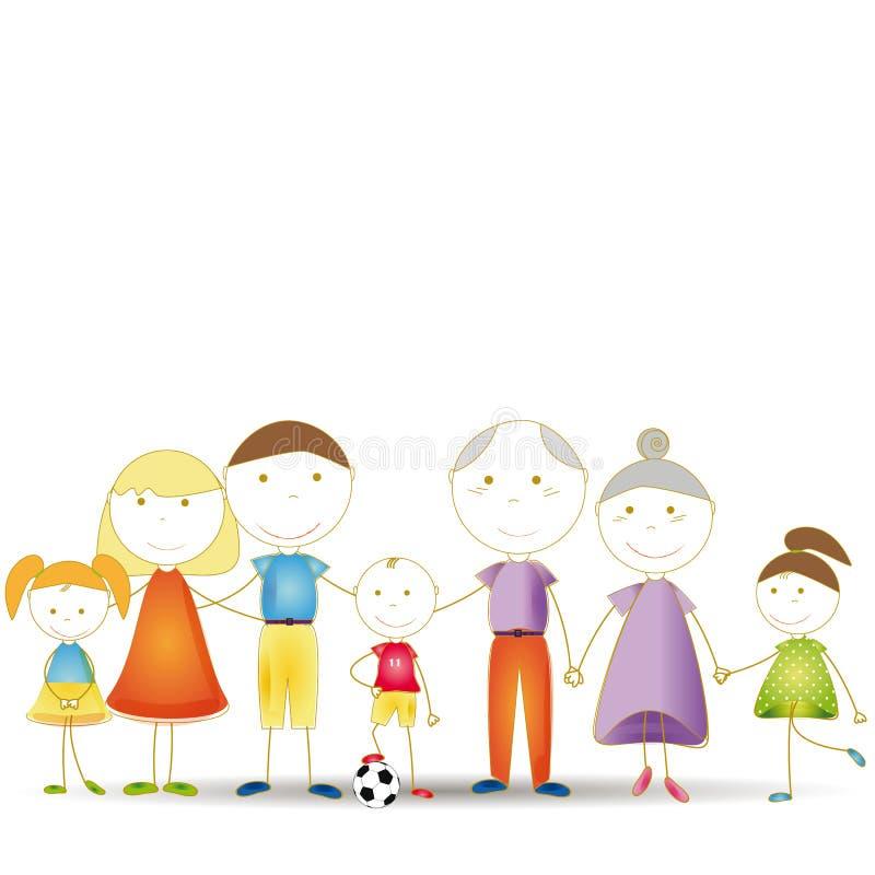 Free Happy Family Stock Photography - 27510522
