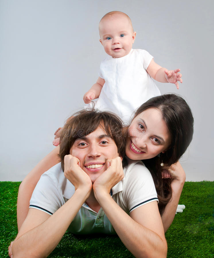 Download Happy family stock photo. Image of cheerful, family, happiness - 27548204