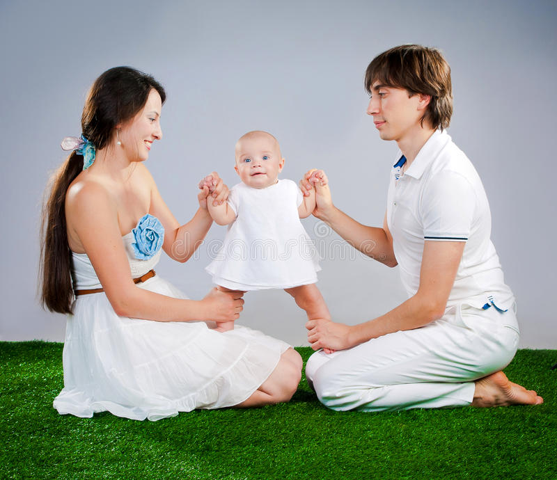 Download Happy family stock photo. Image of beautiful, happy, background - 28046600