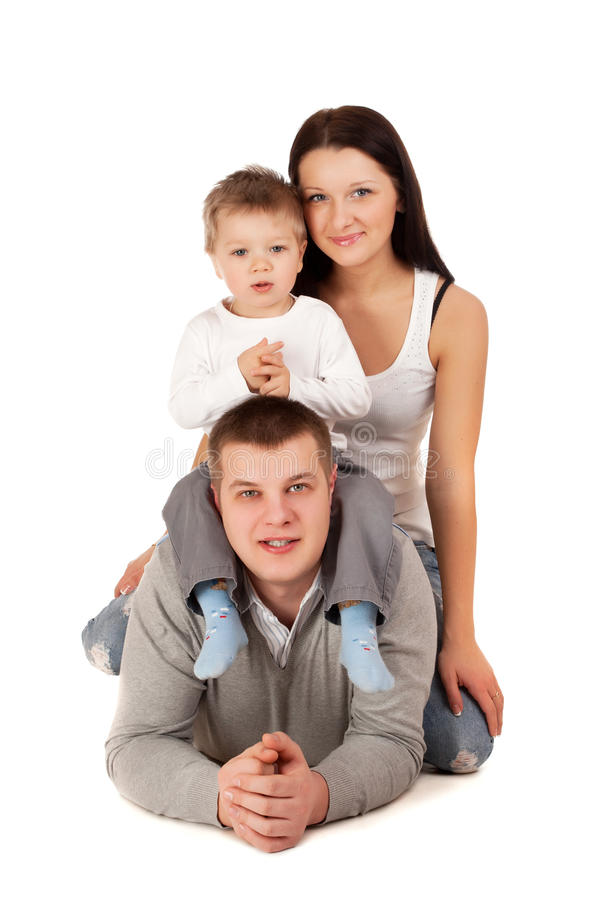 Download Happy family stock image. Image of portrait, pretty, people - 28665963