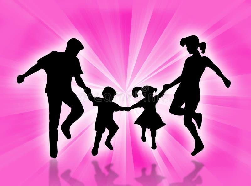 Download Happy family stock illustration. Illustration of procreation - 3540226