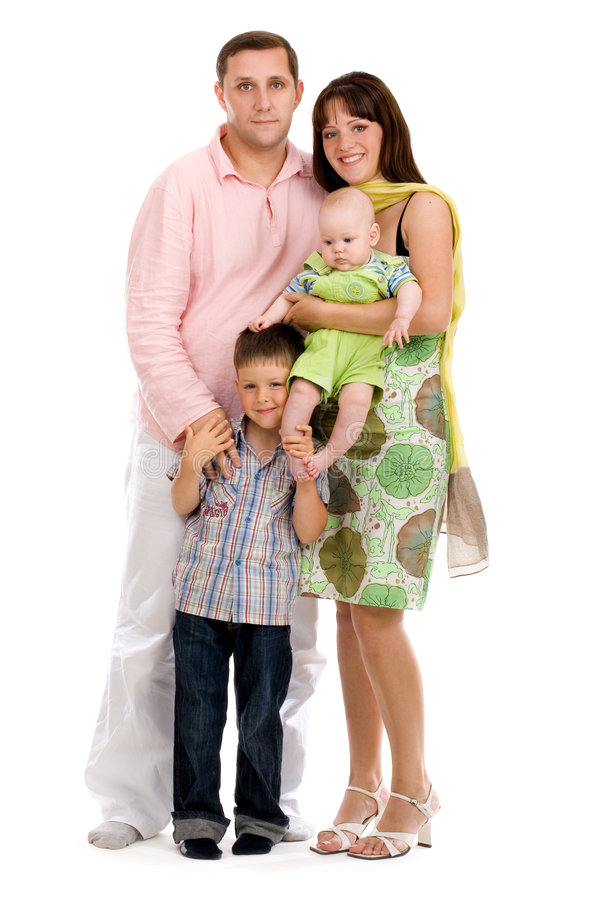 Download Happy family stock photo. Image of male, adult, love, happy - 5821642