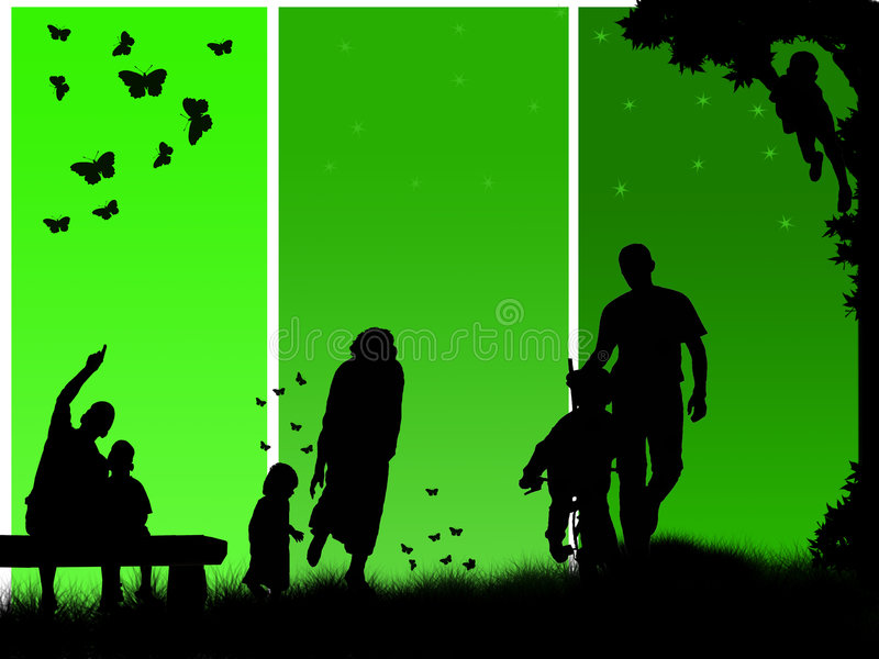 Download Happy family stock illustration. Image of father, future - 9027768