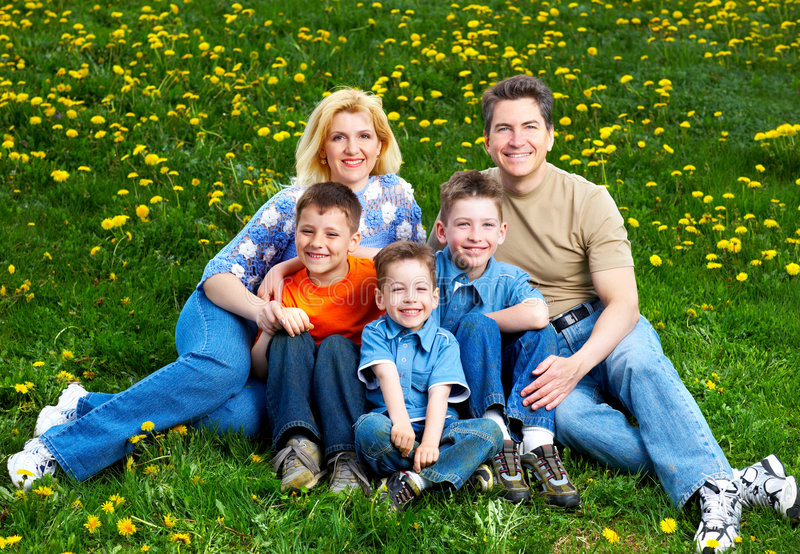 Download Happy Family Royalty Free Stock Photo - Image: 9215815