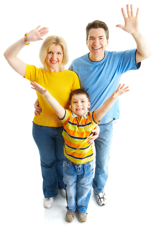 Download Happy Family Royalty Free Stock Photos - Image: 9519338
