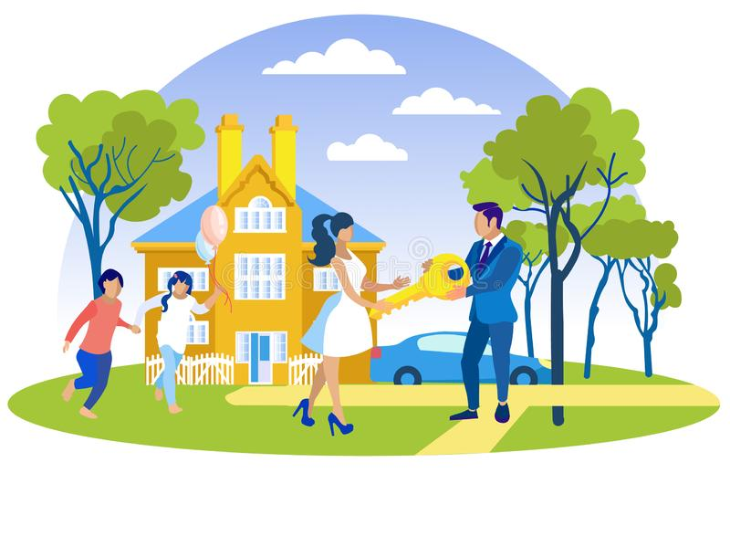 Happy Home New Owners Stock Illustrations 26 Happy Home New Owners Stock Illustrations Vectors Clipart Dreamstime