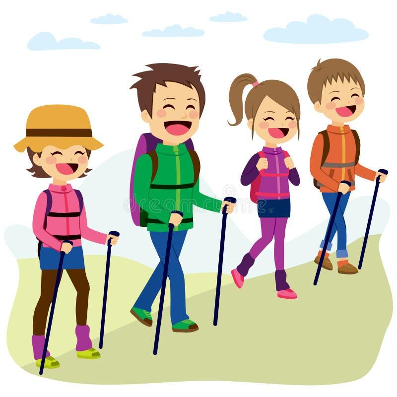 family hiking clipart - photo #18