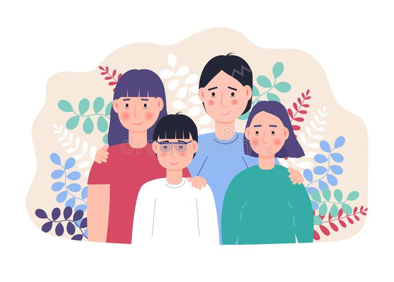 Adoptive Family Stock Illustrations – 116 Adoptive Family Stock  Illustrations, Vectors & Clipart - Dreamstime