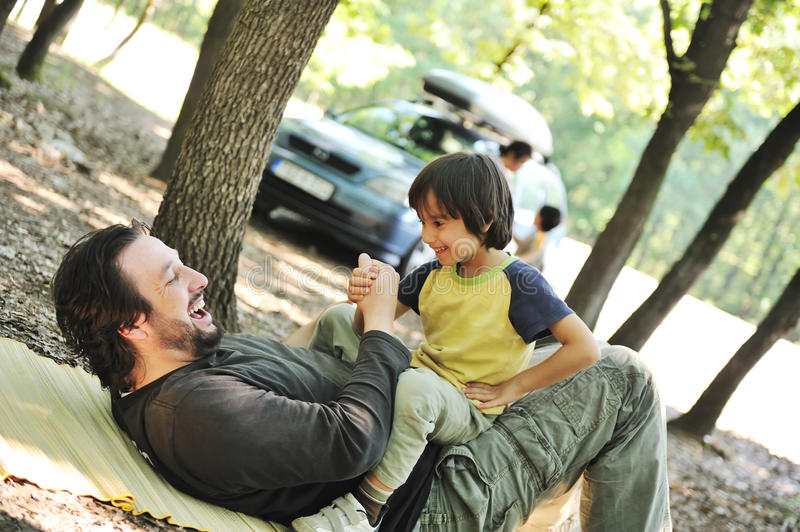Download Happy Family, Father And Son In Focus Stock Photo - Image: 16503990