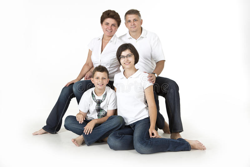 Download Happy family stock image. Image of mother, white, togetherness - 32725335