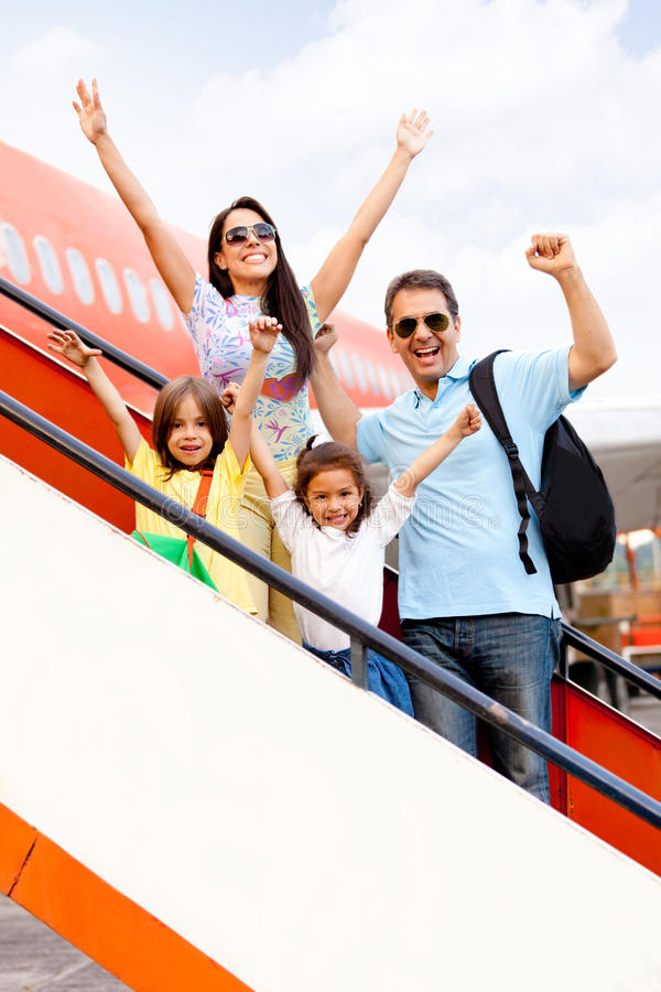 Download Happy Family Going On Holidays Stock Photo - Image: 23717230