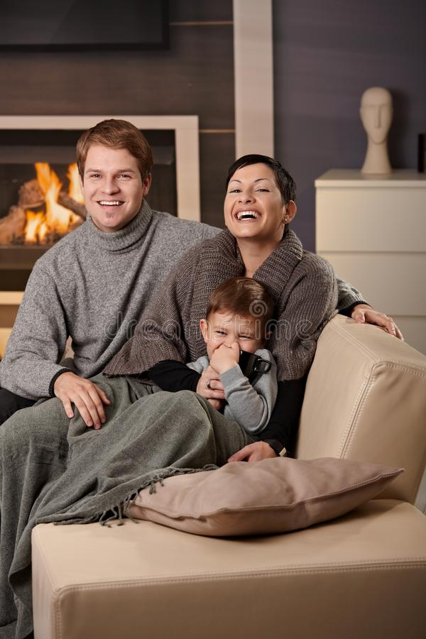 Download Happy Family At Home Stock Photos - Image: 11717433