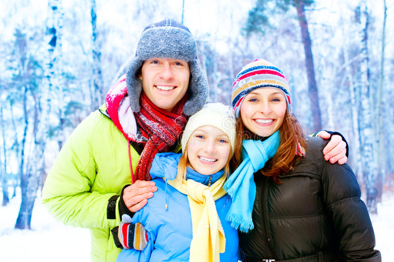 Download Happy Family Outdoors stock photo. Image of person, daughter - 23228596