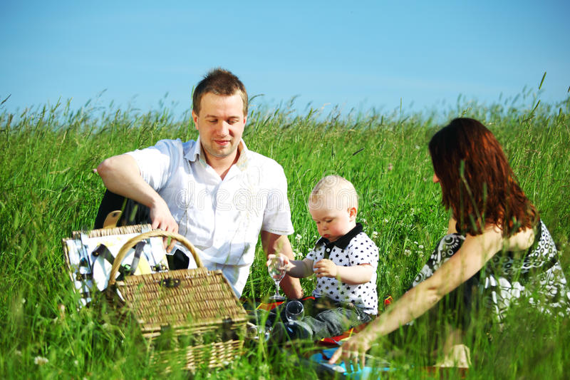 Download Happy family picnic stock image. Image of leisure, happiness - 18220143