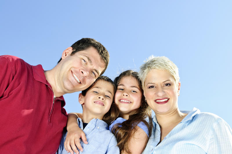 Download Happy family portrait stock photo. Image of people, relax - 10350646