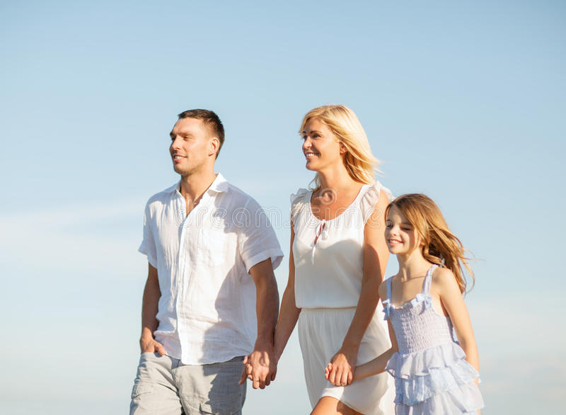 Download Happy Family At The Seaside Stock Image - Image: 34393887