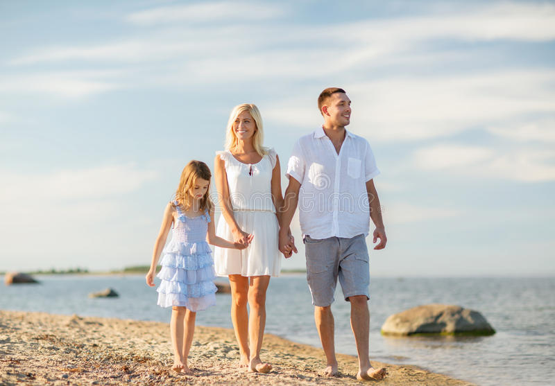 Download Happy Family At The Seaside Stock Image - Image: 34393899