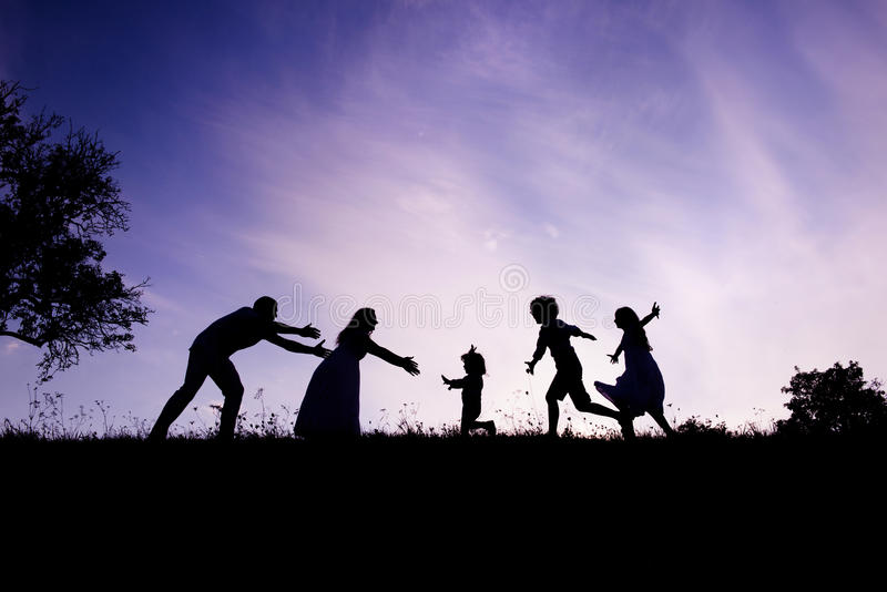 Download Happy family stock photo. Image of children, nature, girl - 33401872