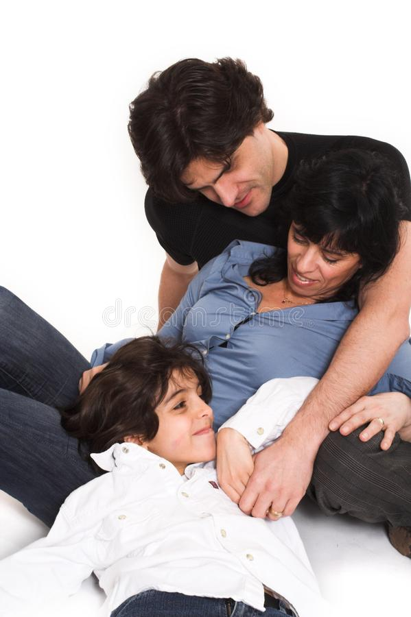 Happy family time stock image