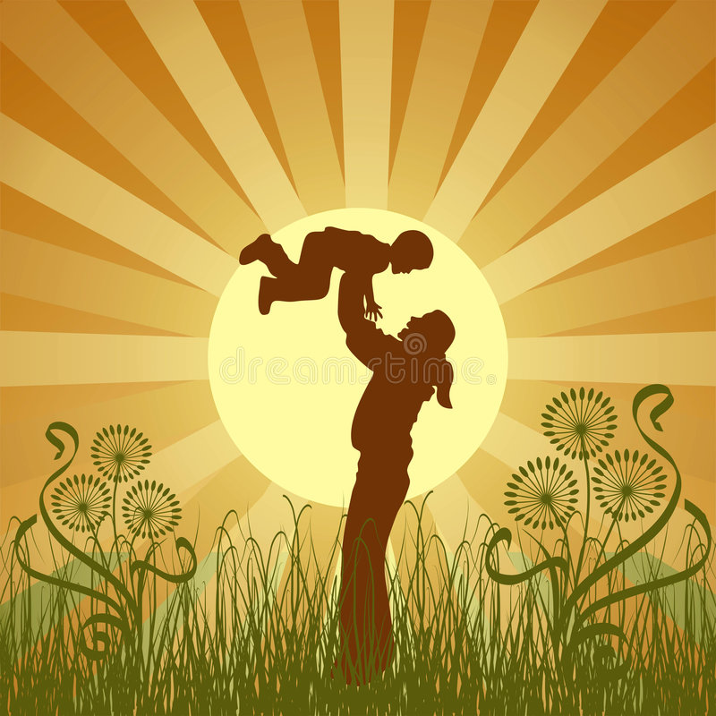 Free Happy Family, Vector Stock Photography - 834622