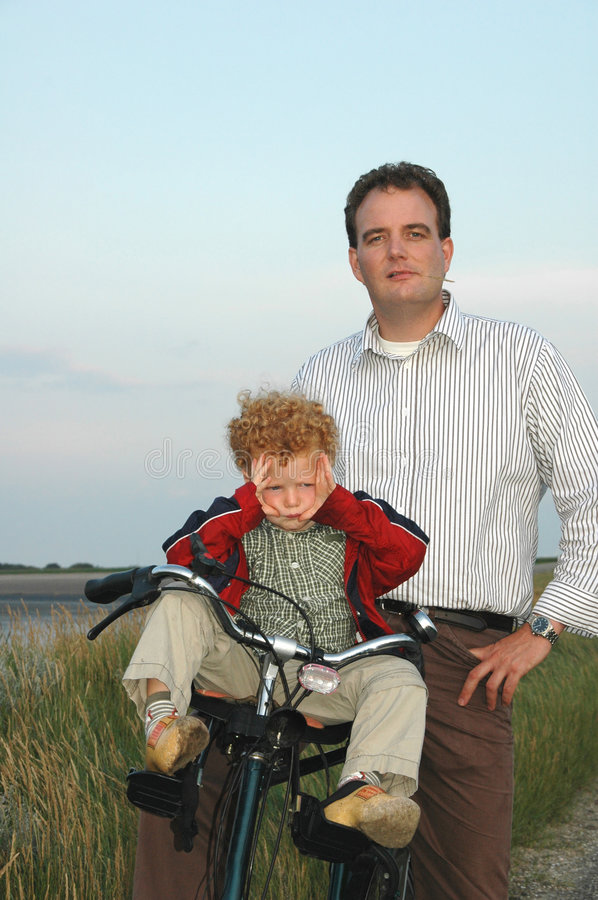 Download Happy Father, Pouting Child Stock Photo - Image: 6368950