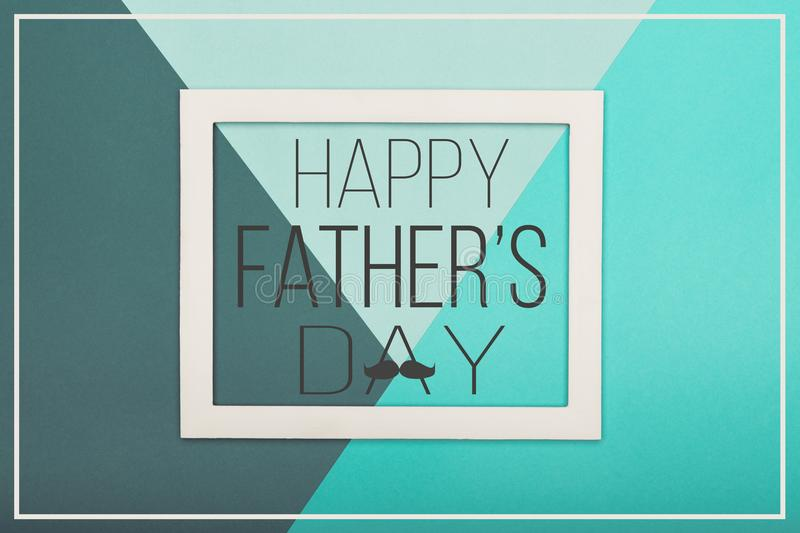 Happy Father`s day Background. Abstract multicoloured paper texture minimalism background. royalty free stock photos