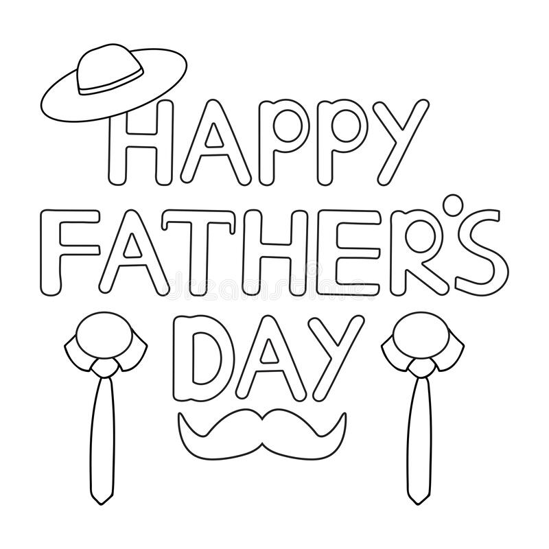 4 free printable Father's Day cards to color | 800x800