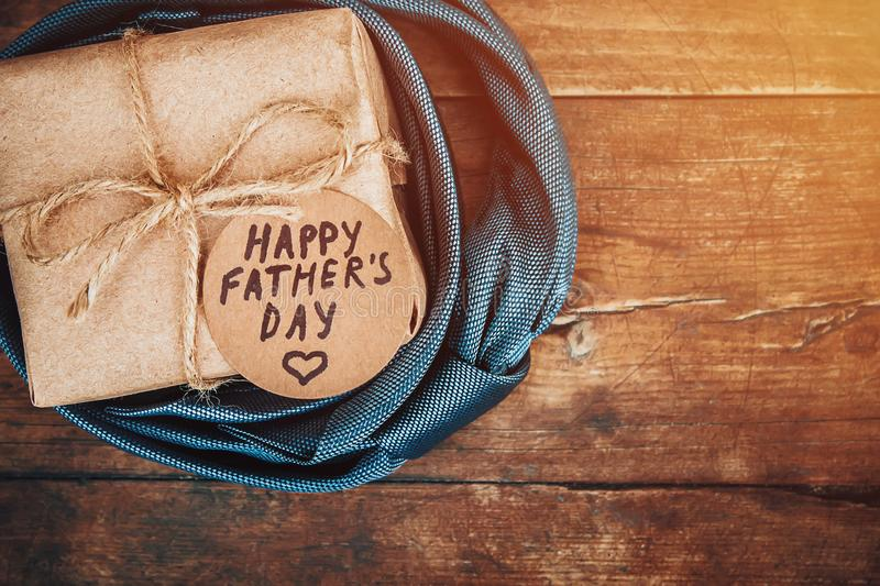 Happy father`s day. Congratulations. stock photo