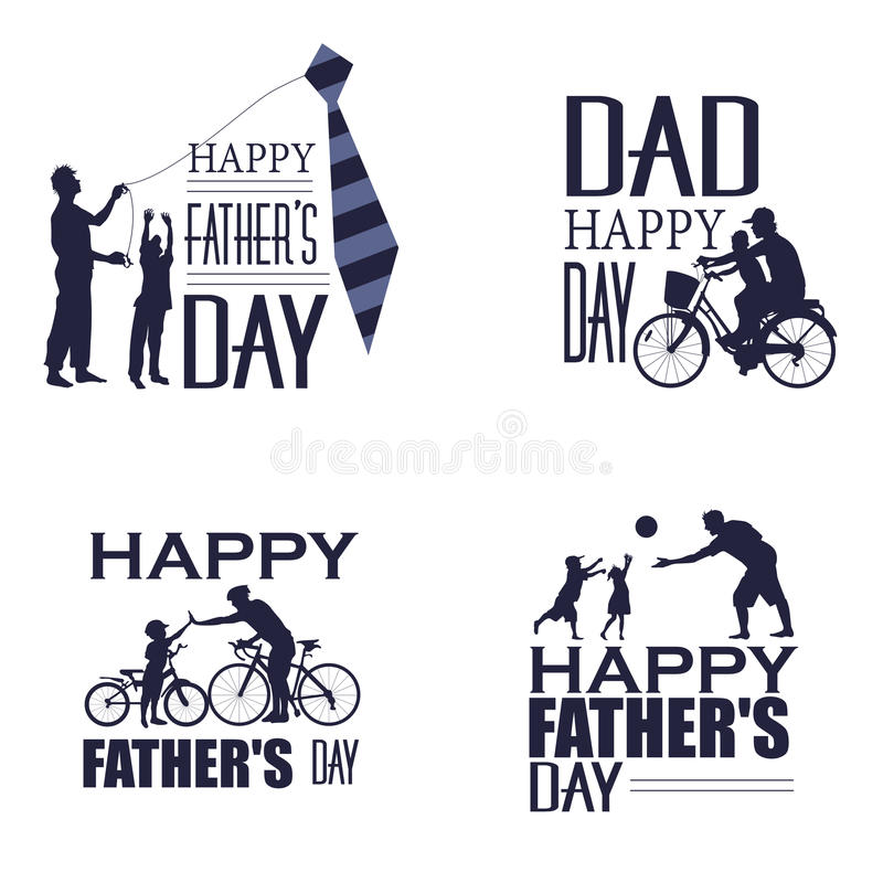 Happy Father`s day vector illustration
