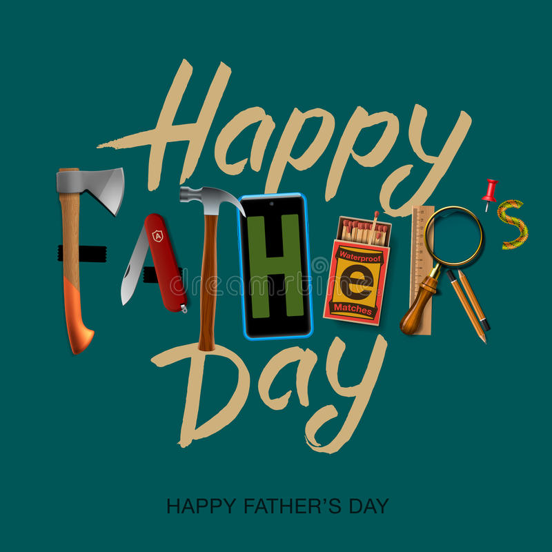 fathers day thumbs up card happy fathers day card vintage retro design stock vector 6568