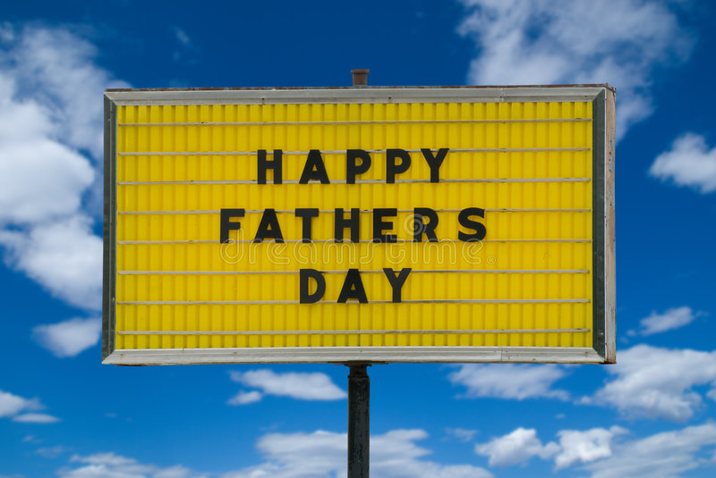 Download Happy Fathers Day Message Royalty Free Stock Images - Image: 2646749
