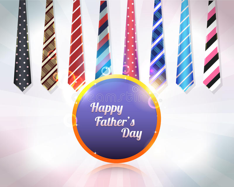 Happy Fathers Day Vector Design vector illustration