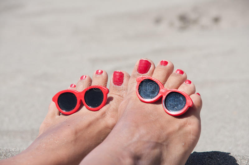 Download Happy feet stock photo. Image of sand, relax, feet, sunny - 22543240