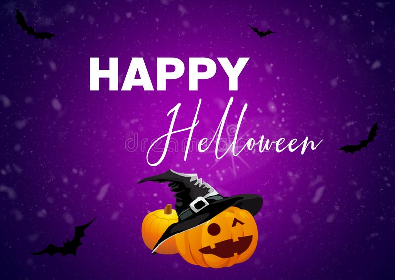Happy fitness Halloween motivation for your better workout royalty free stock photos