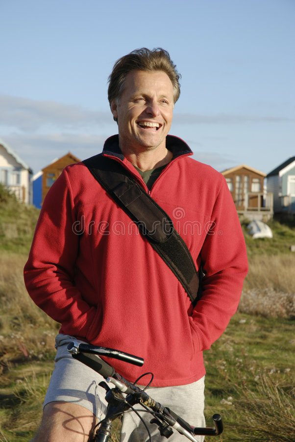 Download Happy forties man stock photo. Image of happy, outdoors - 6797646