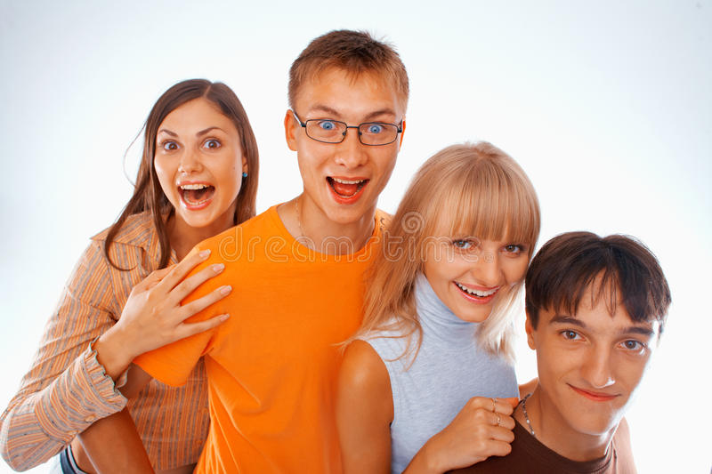 Download Happy friends stock photo. Image of success, energetic - 11690728