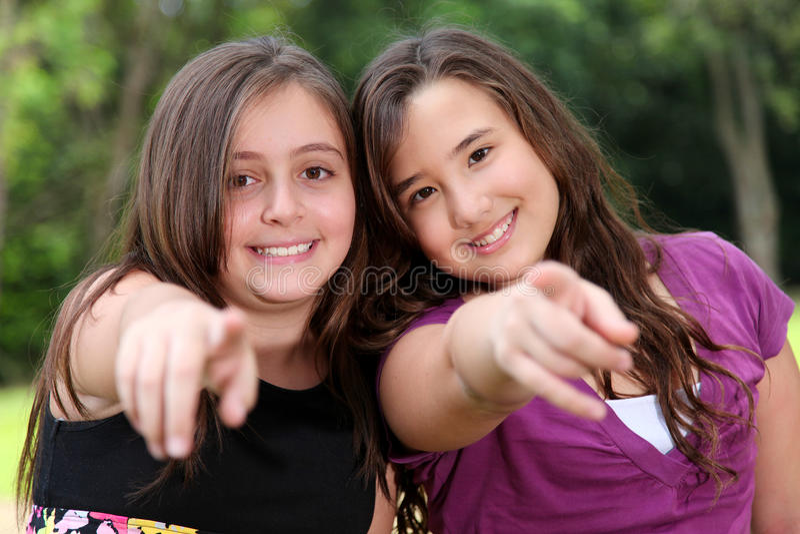 Happy friends royalty free stock photos