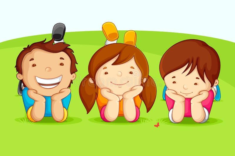 Happy Friends vector illustration