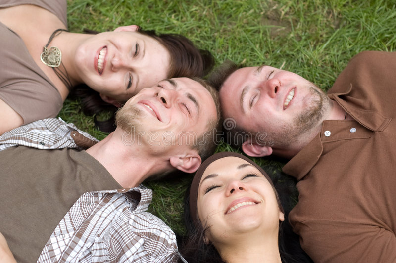 Download Happy friends stock photo. Image of laughing, casual, male - 5797686