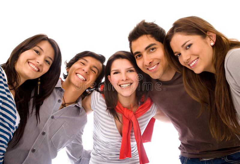 Download Happy friends stock image. Image of american, european - 6929745