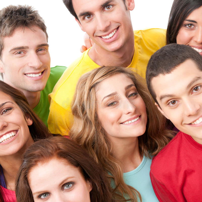Download Happy Friends Portrait Royalty Free Stock Photo - Image: 19846925
