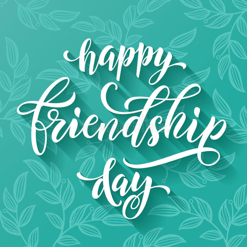 Happy friendship day greeting card stock illustration download happy friendship day greeting card stock illustration illustration of banner background m4hsunfo