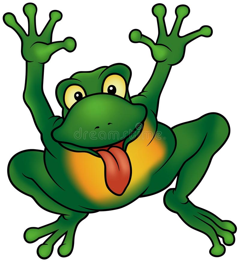 Free Happy Frog Stock Photography - 12670802